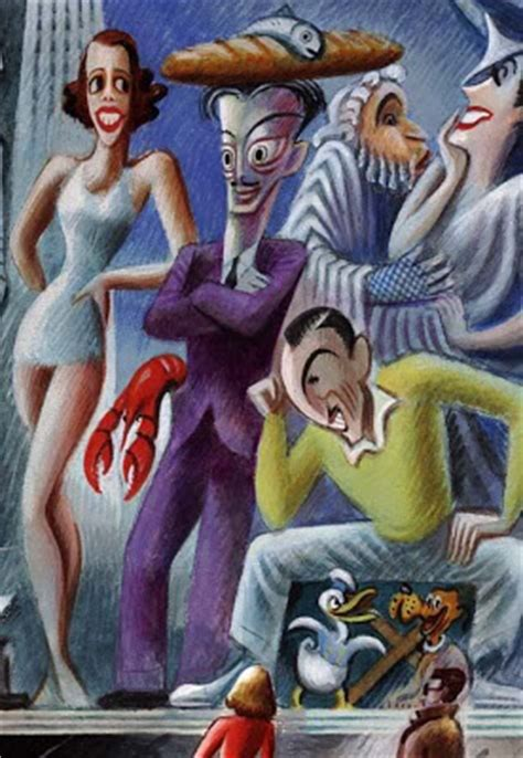 """miguel covarrubias: """"Our changing tastes … in 1938″"""