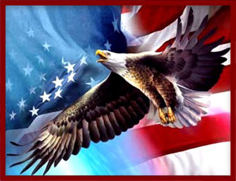 Free American Patriotic Gifs - Military Flag Animations