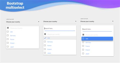Bootstrap Multiselect - examples & tutorial