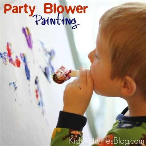 Things to Paint With: A Party Blower | Birthdays, Oral