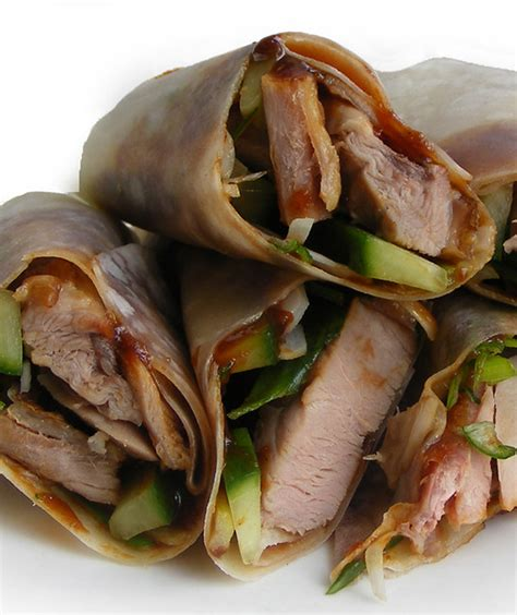 Peking Duck Pancakes   Easy lunch: readymade Roasted