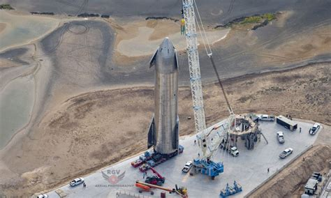 SpaceX Starship SN9 Is At Launch Pad Ahead of High