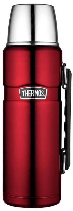 """Thermos Isoliertrinkflasche """"Stainless King"""", rot, 1,2 Liter"""