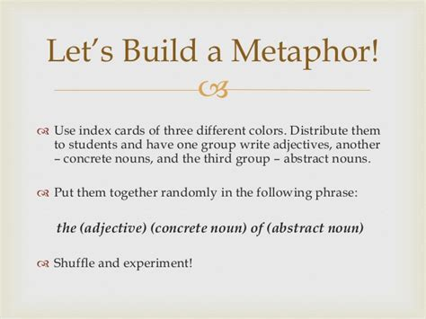 How Metaphors Shape Our Thinking and Writing