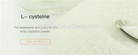 High Quality L-cysteine Base With Free Sample - Buy L