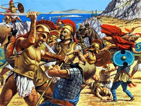 Battle of Marathon- by Roger Payne   Greco persian wars