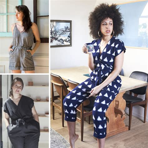 Think Happy Jumpsuit Thoughts as You Prep for Spring Sewing