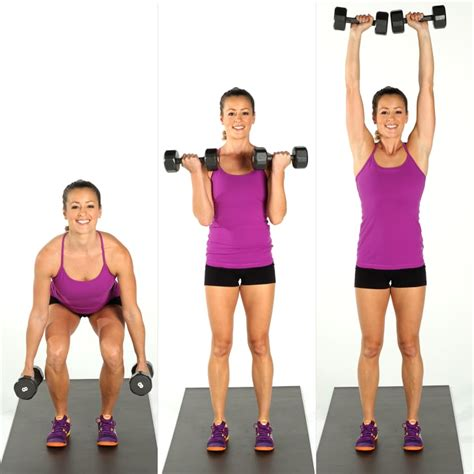 Squat, Curl, and Press | Weight Training For Women