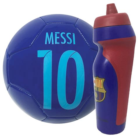 Number and Signature, FC Barcelona Messi Ball with Name