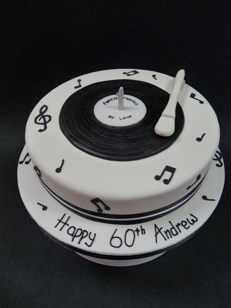 Record Player Birthday Cake - CakeCentral