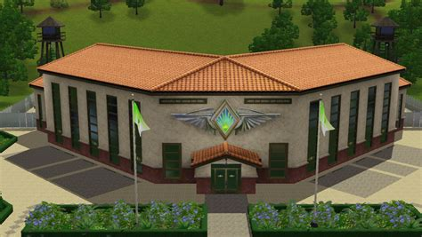 Sims 3 Community Lots Compendium : Sims 3 Military Bases
