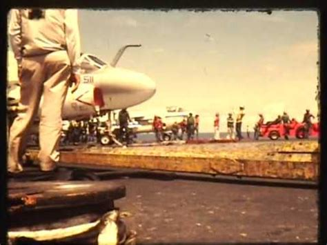 USS Midway Flight Operations 1972 73 - YouTube
