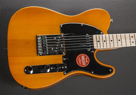Squier Affinity Series Telecaster - Butterscotch Blonde w