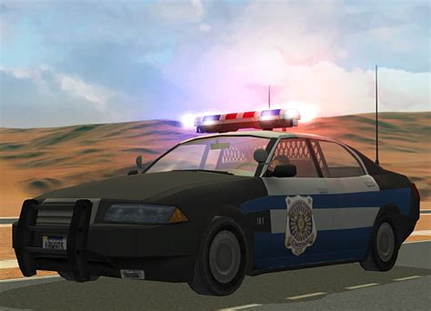 Gingers's Crazy About Sims | Police car default