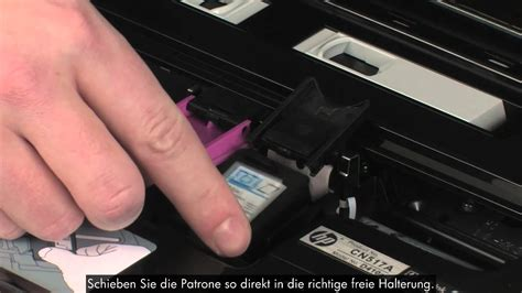 Druckpatrone auswechseln - HP Envy 100 D410a - YouTube